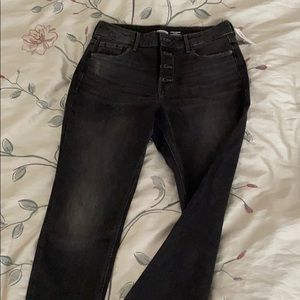 OLD NAVY Power Straight High Rise Jeans 8P petite